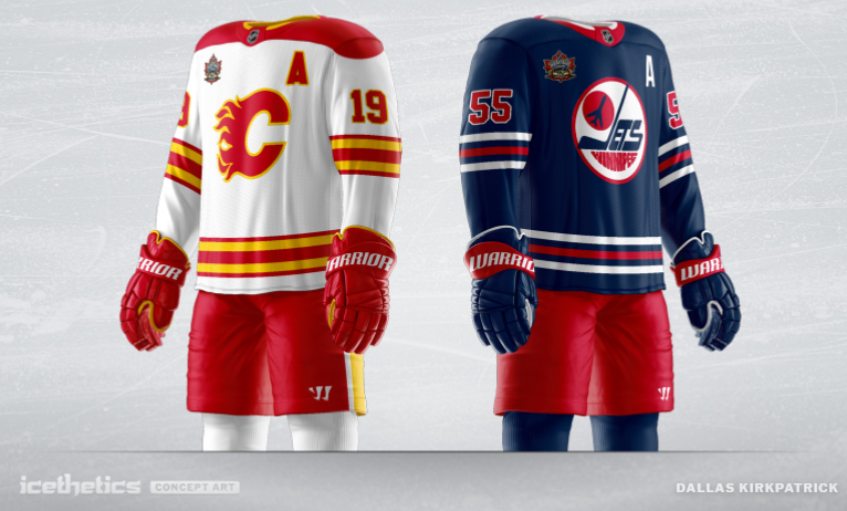 online store 0f177 1ac91 Are These Flames And Jets Jersey Concepts An Idea Of What We ...